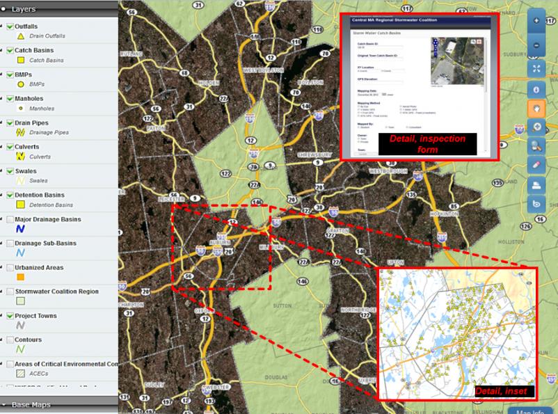 map of PeopleGIS Online Platform